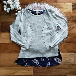 NWOT Apt.9 Layered Sweater